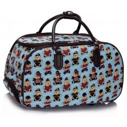 Cestovní taška s kolečky Ashley Bear Modrá