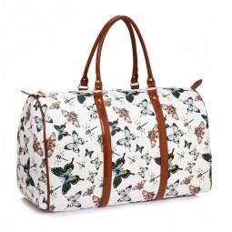 Cestovní taška White Butterfly