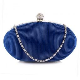 Psaníčko Ashley Oval Ribbing Royal Blue