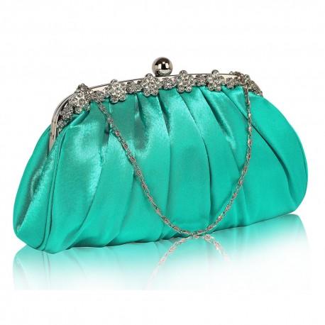 Psaníčko Ashley Sparkly Emerald (Zelené, Modré)