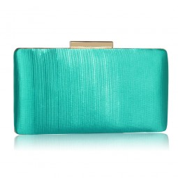 Psaníčko Emerald Satin Clutch