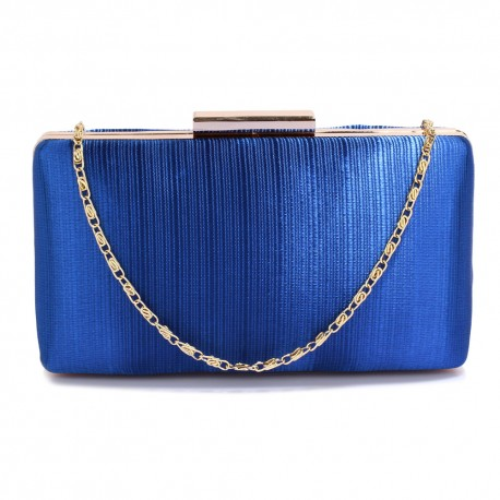Psaníčko Blue Satin Clutch
