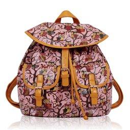 Dámský batůžek Ashley Owl 5 Růžový