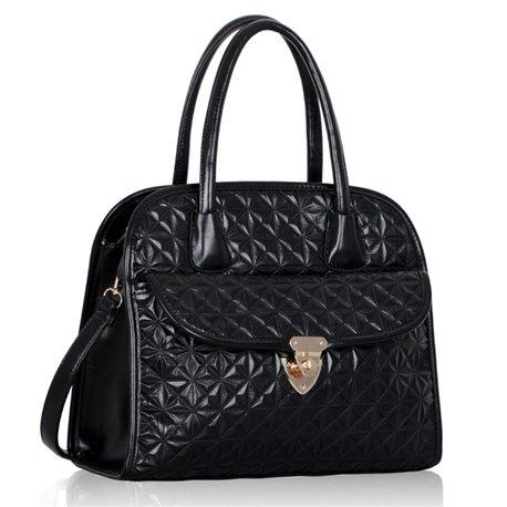 Kabelka Ashley s kapsou Černá