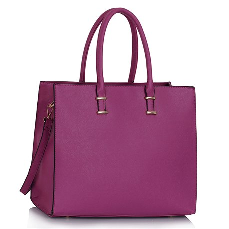 Elegantní kabelka Ashley Fashion Fialová