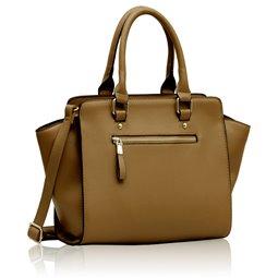 Elegantní kabelka Ashley Classic Béžová