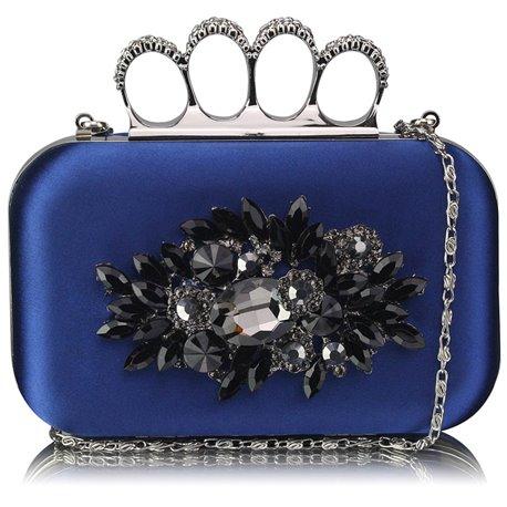 Psaníčko Ashley Diamond Flower Navy (Modré)