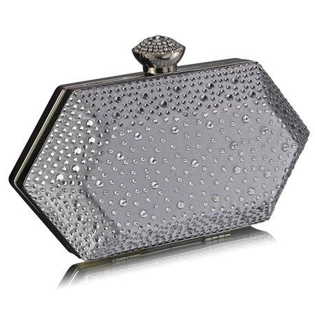 Psaníčko Ashley Diamond Hexagon Stříbrné (Šedé)
