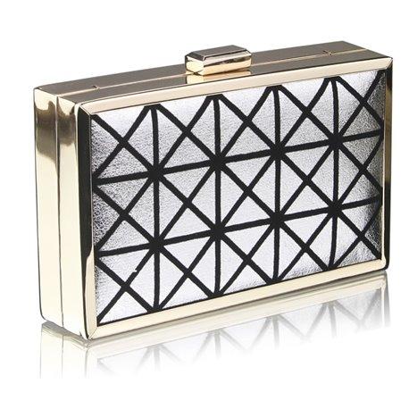 Psaníčko Ashley Triangle In Box Stříbrné (Šedé)