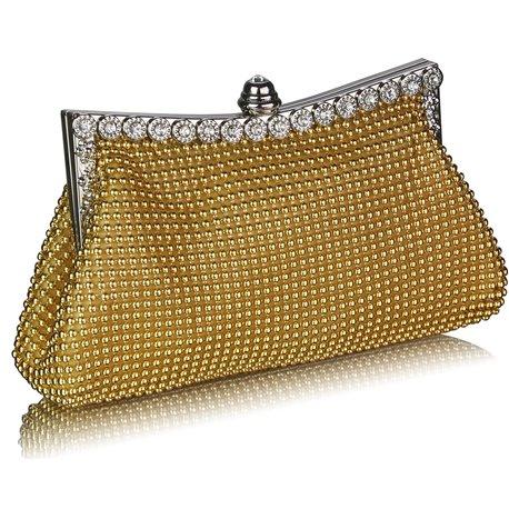 Psaníčko Ashley Sparkly Pearls Zlaté (Žluté)