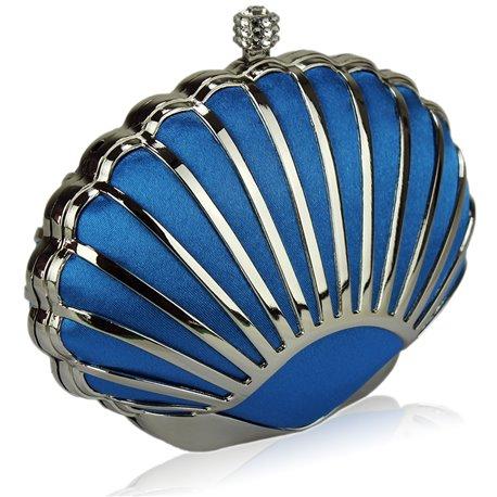 Psaníčko Ashley Hard Seashell Teal (Modré)