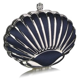 Psaníčko Ashley Hard Seashell Navy (Modré)