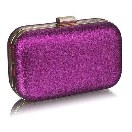Psaníčko Ashley Hard Glitter Fialové (Růžové)