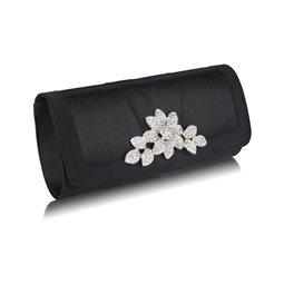 Psaníčko Ashley Crystal Flowers Černé