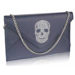 Psaníčko Ashley Letter Skull Navy (Modré)