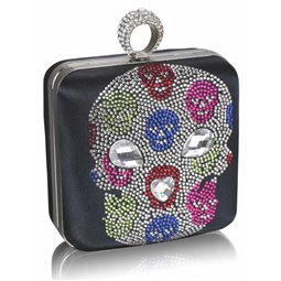 Psaníčko Ashley Diamond Skull Navy (Modré)