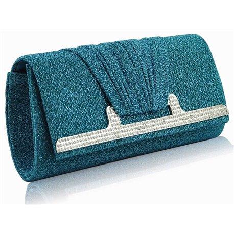 Psaníčko Ashley Holder Emerald (Modré)