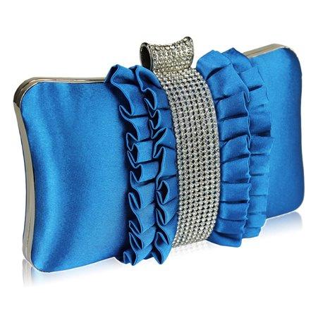 Psaníčko Ashley Diamond Rucher Teal (Modré)