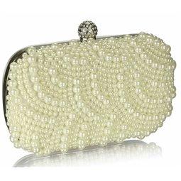 Psaníčko Ashley Oriental Pearls Ivory (Bílé Smetanové)