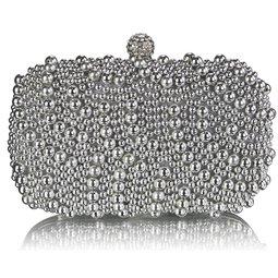 Psaníčko Ashley Oriental Pearls Stříbrné (Šedé)