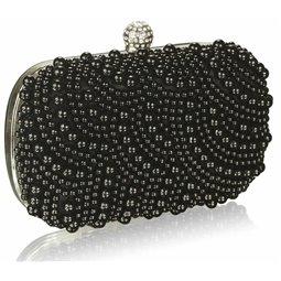 Psaníčko Ashley Oriental Pearls Černé
