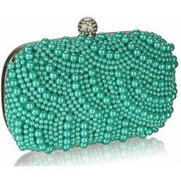 Psaníčko Ashley Oriental Pearls Emerald (Zelené Modré)