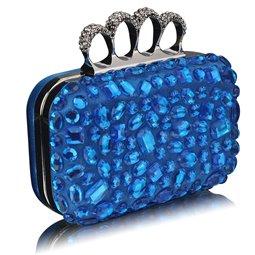 Psaníčko Ashley Diamonds Rings Teal (Modré)