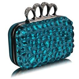 Psaníčko Ashley Diamonds Rings Tyrkysové (Modré)