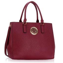 Dámská kabelka Ashley Simple Orient Burgundy (Vínová Červená)