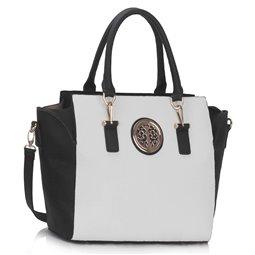 Dámská kabelka Ashley Orient Duo Černo-bílá