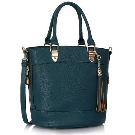Dámská kabelka Ashley Fringes Navy (Modrá)