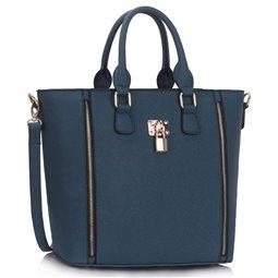 Dámská kabelka Ashley PadKey Navy (Modrá)