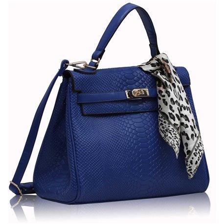 Dámská kabelka Ashley Snake Bow Navy (Modrá)