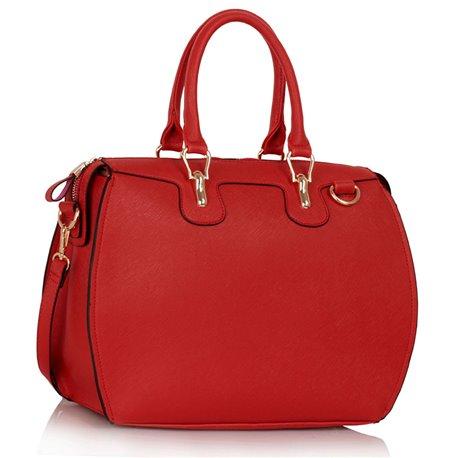 Dámská kabelka Ashley Luggage Červená