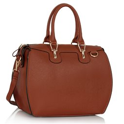 Dámská kabelka Ashley Luggage Hnědá