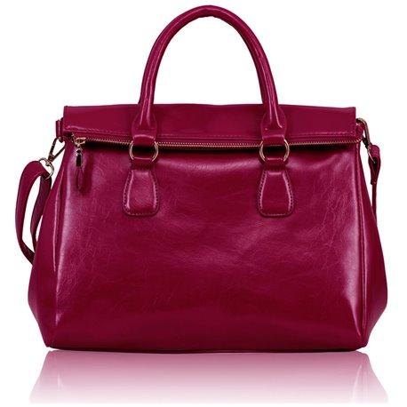Dámská kabelka Ashley Bend Fuchsiová (Růžová)