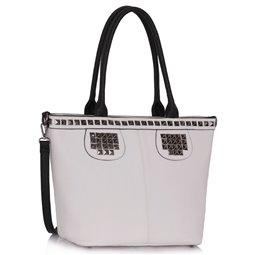Dámská kabelka Ashley Armor Bílá
