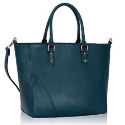 Dámská kabelka Ashley Rounded Mat Navy (Modrá)