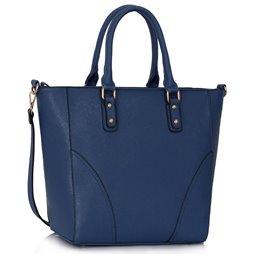 Dámská kabelka Ashley Rounded L Navy (Modrá)