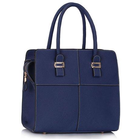 Dámská kabelka Ashley Multi Squares Navy (Modrá)