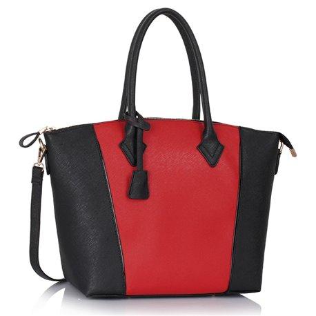 Dámská kabelka Ashley Spread Černo-červená