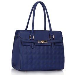 Dámská kabelka Ashley Quilted Navy (Modrá)
