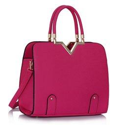 Dámská kabelka Ashley Flunk Fuchsiová (Růžová)