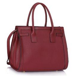 Dámská kabelka Ashley Board Burgundy (Vínová Červená)