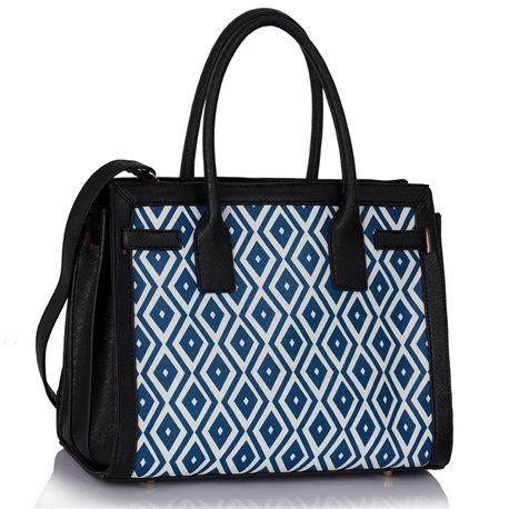 Dámská kabelka Ashley Board  X Černo-modrá
