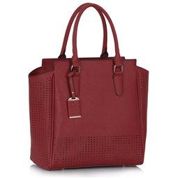 Dámská kabelka Ashley Perfor Burgundy (Vínová Červená)