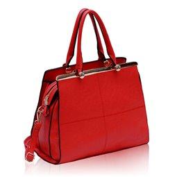 Dámská kabelka Ashley Marble Červená