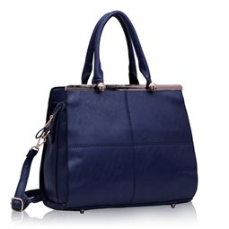 Dámská kabelka Ashley Marble Navy (Modrá)