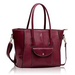 Dámská kabelka Ashley Pocket Puz Fialová