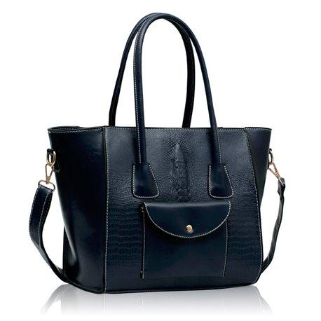 Dámská kabelka Ashley Pocket Puz Navy (Modrá)